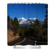 Arizona Country Road  Shower Curtain