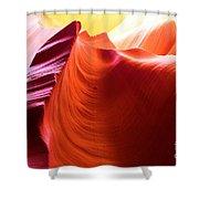 Arizona Desert Rainbow Shower Curtain