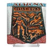 Arizona Ditat Deus Shower Curtain