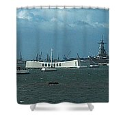 Arizona  Missouri  Bow  To  Bow  Two Shower Curtain