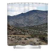 Arizona Mountains Shower Curtain