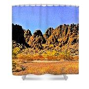Arizona Panorama Organ Pipe Shower Curtain