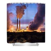 Arizona Power Plant Shower Curtain