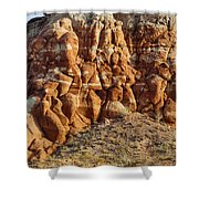 Arizona Rock Formation Shower Curtain