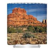 Arizona Sedona Bell Rock  Shower Curtain
