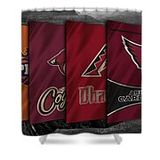 Arizona Sports Teams Shower Curtain