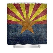 Arizona State Flag Shower Curtain