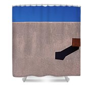 Arizona Stucco With Scupper Shower Curtain