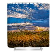 Arizona Sunset 27 Shower Curtain
