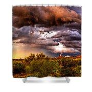 Arizona Sunset 5 Shower Curtain