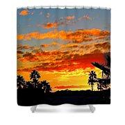 Beautiful Arizona Sunset Shower Curtain