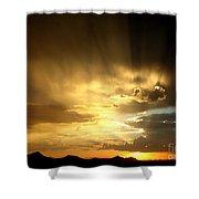 Arizona Sunset Shower Curtain