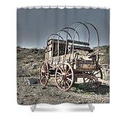 Arizona Wagon Shower Curtain