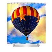 Arizonia Hot Air Balloon Special Shower Curtain