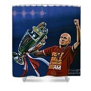 Arjen Robben Shower Curtain