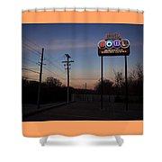 Arkansas Bowl Shower Curtain