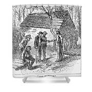 Arkansas Hot Springs, 1878 Shower Curtain