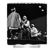 Arkestra Procession 1968 Shower Curtain by Lee  Santa