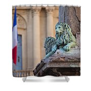 Arles Place De La Republique Shower Curtain