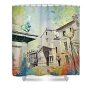 Arles Roman And Romanesque Monuments Shower Curtain