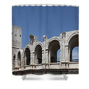 Arles Roman Arena Shower Curtain