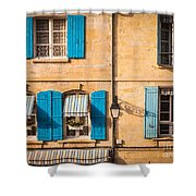 Arles Windows Shower Curtain