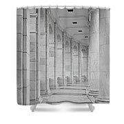 Arlington Amphiteather Arches And Columns Shower Curtain