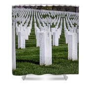 Arlington National Cemeterey Shower Curtain by Susan Candelario