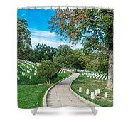 Arlington National Cemetery Part 2 Shower Curtain