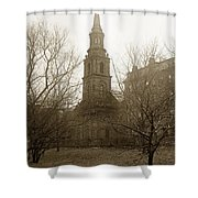 Arlington Street Church Unitarian Universalist Boston Massachusetts Circa 1900 Shower Curtain