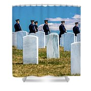 Arlington, Washington D.c. - Honor Shower Curtain