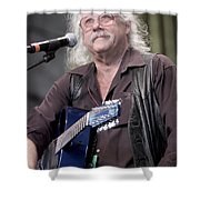 Arlo Guthrie Shower Curtain