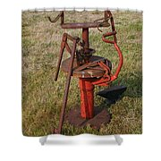Arm Strong Tire Changer Shower Curtain