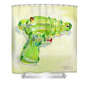 Armed And Dangerous Shower Curtain