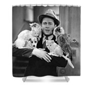 Armful Of Cats And Dogs Shower Curtain