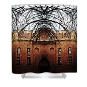 Armory Symmetry Shower Curtain