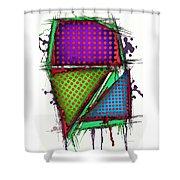 Armour 2 Shower Curtain