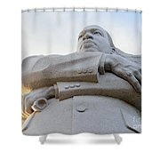 Arms Of Justice Shower Curtain