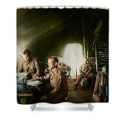Army - Administration Shower Curtain