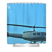 Army Helicopter Shower Curtain
