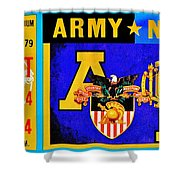Army Navy 1979 Shower Curtain