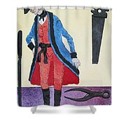 Army Surgeon, C1800 Shower Curtain