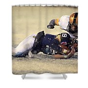 Army Versus Navy In The Snow 2013 Shower Curtain