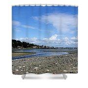 Arness Park Beach Shower Curtain