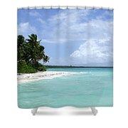 Arno Island Shower Curtain