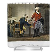 Arnold And Andre, 1780 Shower Curtain