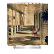 Arnold Park's Shops Shower Curtain