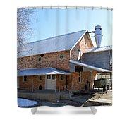 Around The Mill Shower Curtain