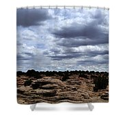 Around The Ranch Shower Curtain