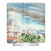 Arrecife In Lanzarote 10 Shower Curtain